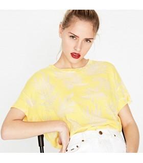 T-Shirt Donna Michelle Pepe Jeans Colore Giallo - PL502849064