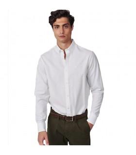 Camicia Uomo Gant Oxford Pinpoint Regular Colori Bianco e Celeste - 303000
