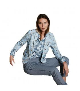 Pantaloni Donna Diana Gallesi Colore Blu Cielo - P205R06201