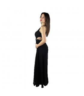 Tuta Donna Musani Smanicata Colore Nero - CC200005
