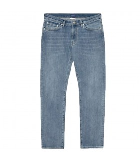 Jeans Uomo Gant Slim Light Blue Worn In - 1315008
