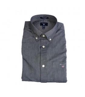Camicia Uomo Gant Oxford Regular Beefy Colori Blu e Grigio - 3000070