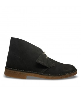 Scarpa Uomo Clarks Desert Boot Colore Grigio Scuro - 26141744