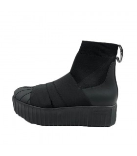 Sneakers Donna Fessura Hi-Line Ankle Colore Nero - HILINEANKLE