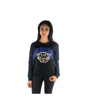 Felpa Donna Roy Roger's Black Panther Colore Nero - A19RND524C747XXXX