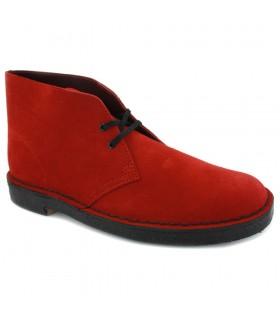 Scarpa Uomo Clarks Desert Boot Colore Rosso - 26147081