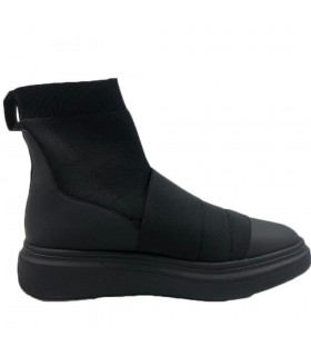 Sneakers Uomo Fessura Edge Ankle Colore Nero - EDGEANKLE