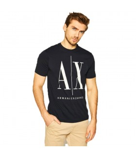 T-Shirt Uomo Armani Exchange Colore Blu Navy - 8NZTPAZJH4Z1510