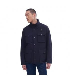 Giubbino Uomo Blauer Field Jacket Sfoderato Colore Blu - 20SBLUB04040005258892