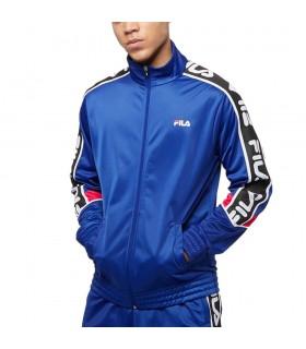 Felpa Uomo Fila con Zip Ted Track Jacket Colore Blu - 687706A486